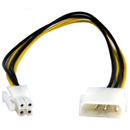 Переходник P4-12V to Molex Power Cable